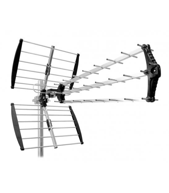 Antena zewnętrzna kierunkowa aktywna do cyfrowej telewizji naziemnej DVB-T Cabletech model ANT0573 (