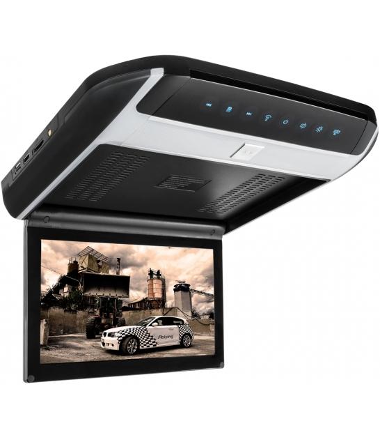 """Samochodowy monitor LCD 10"""" podwieszany z odtwarzaczem DVD"""