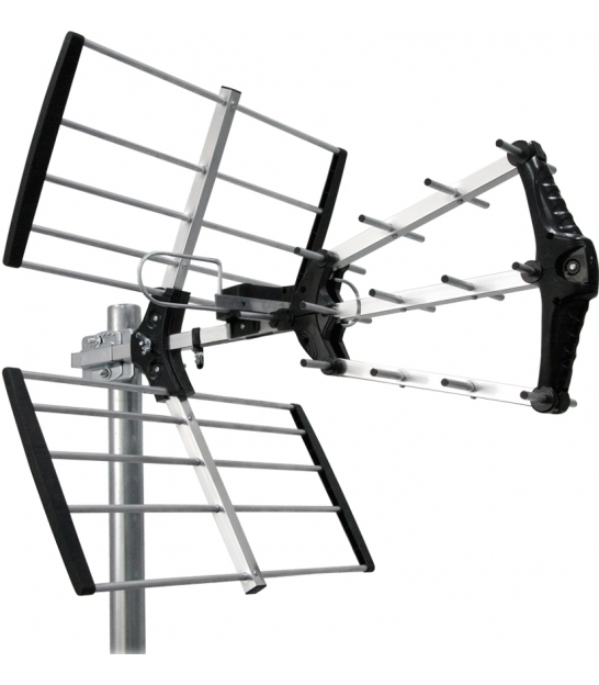 Antena zewnętrzna kierunkowa do cyfrowej telewizji naziemnej DVB-T Cabletech model ANT0574 (z system