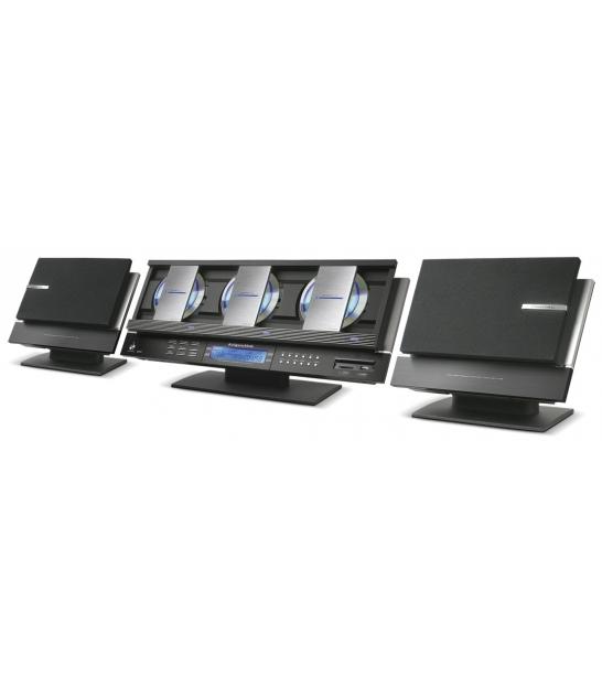 Wieża Kruger&Matz KM7733 ze zmieniarką na 3 płyty oraz czytnikiem kart SD i USB