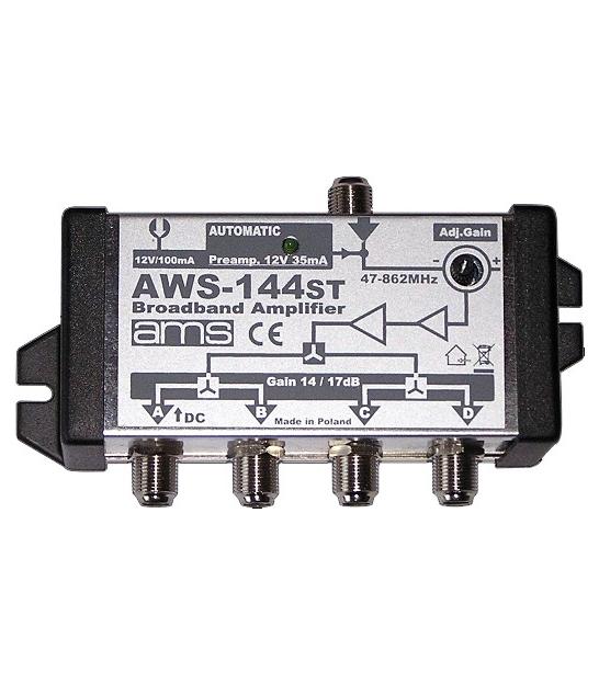 Wzmacniacz antenowy AMS AWS-144ST