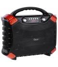 Przenośny aktywny zestaw głośnikowy z funkcją MP3, Bluetooth, radio FM, funkcja KARAOKE