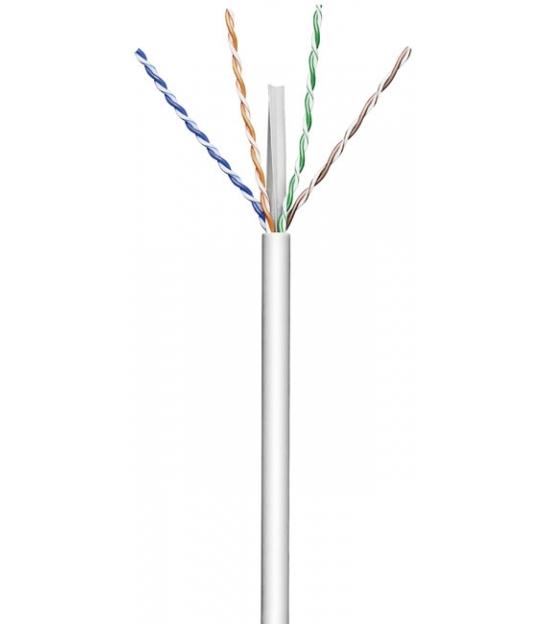 Kabel instalacyjny (drut) CAT 6 U/UTP CCA 305m szary