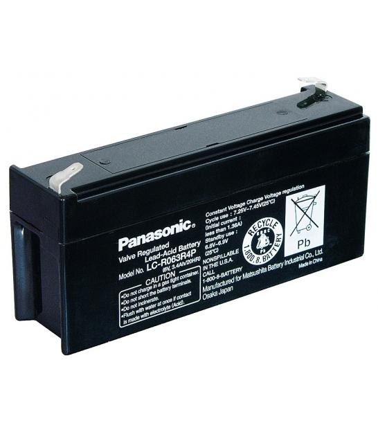 Akumulator żelowy AGM Panasonic (LC-R063R4P) 6V 3,4Ah