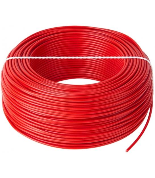 Przewód LgY 1x0,75 H05V-K czerwony 100m