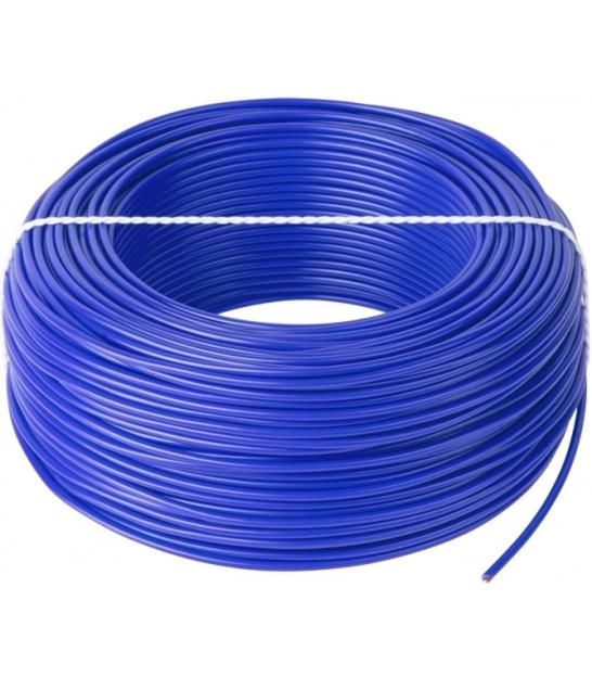Przewód LgY 1x0,5 H05V-K niebieski 100m