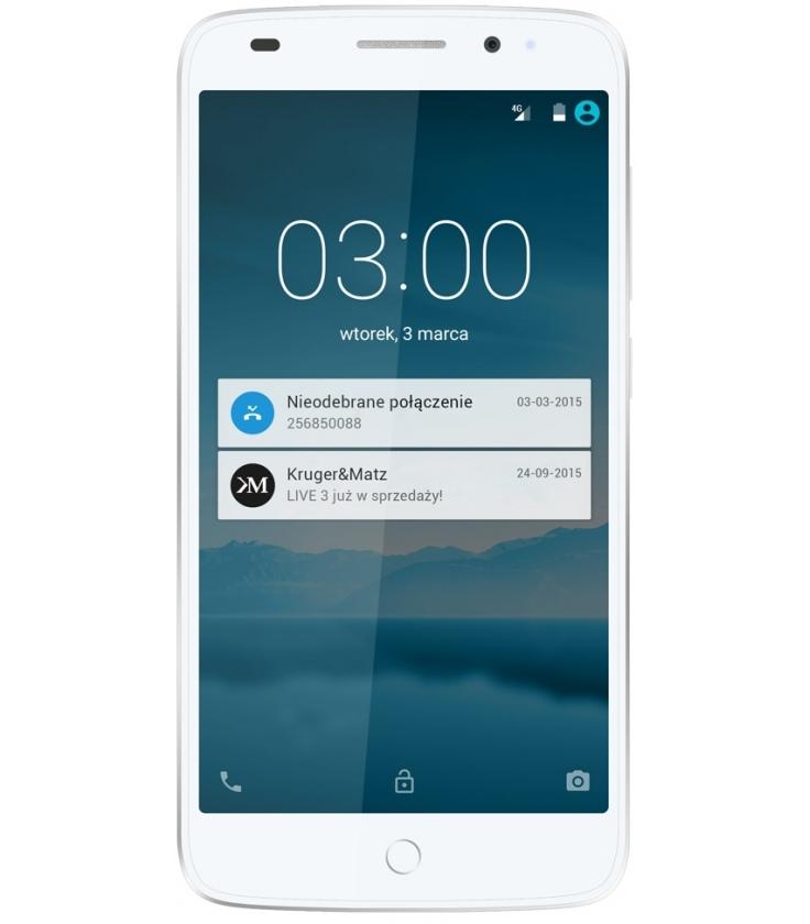 Smartfon Kruger&Matz LIVE 3 biały