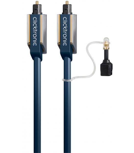 Kabel optyczny TOSLINK / TOSLINK 5m Clicktronic Advanced