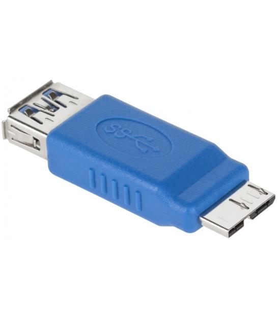 Złącze USB 3.0 gniazdo A - wtyk micro