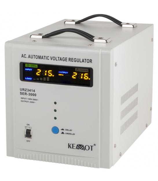Automatyczny stabilizator napięcia KEMOT SER-3000