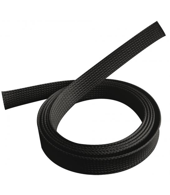 Peszel poliestrowy czarny na kable A/V 1m/40mm