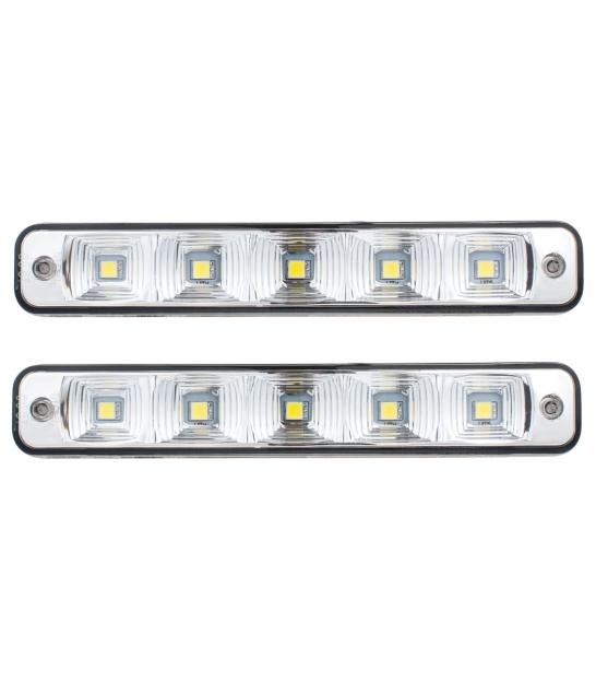 Światła do jazdy dziennej -2x5W (D 03)