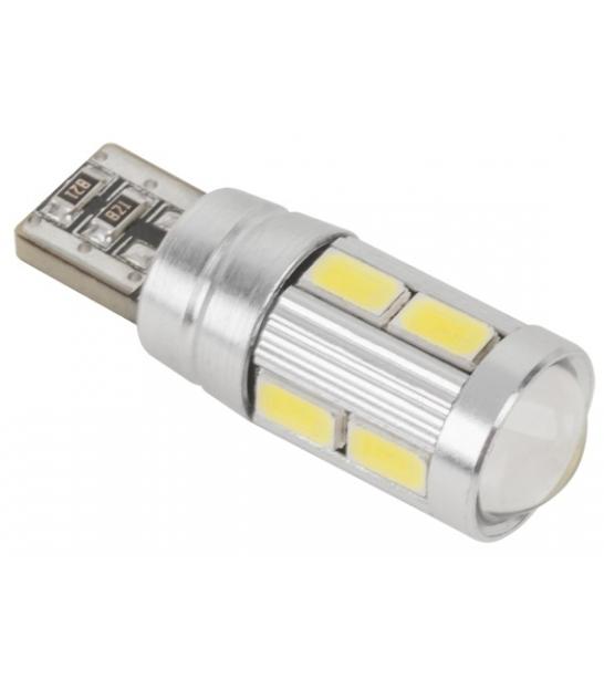 Żarówka samochodowa LED T10 (Canbus)-10x5730SMD
