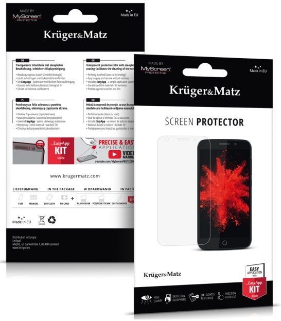 Folia ochronna Crystal do Kruger&Matz Drive 4