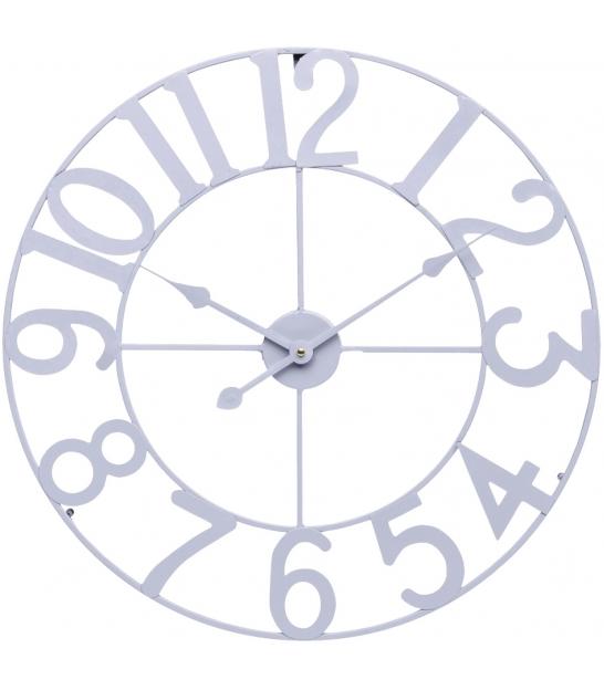 Zegar ścienny RETRO 60cm szary