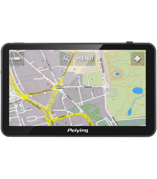 Nawigacja satelitarna Peiying Alien PY-GPS7012 + Mapa