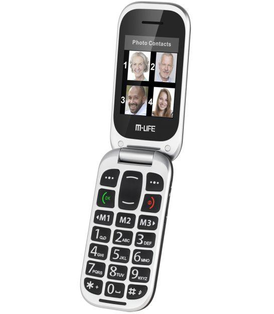 Telefon GSM dla Seniora M-LIFE ML0653