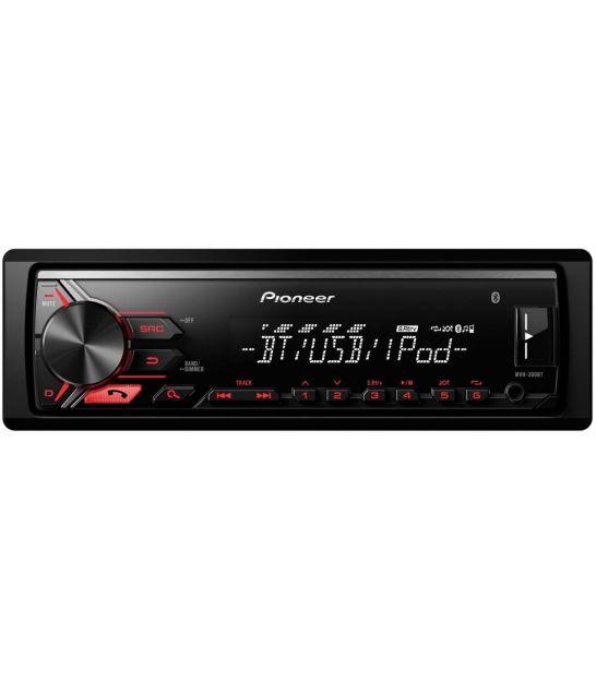 Radio samochodowe PIONEER MVH-390BT AM/FM, Bluetooth, iPod/iPhone Direct Control, USB
