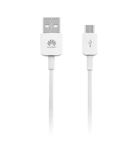 Kabel USB - micro USB 1m biały Huawei oryginalny