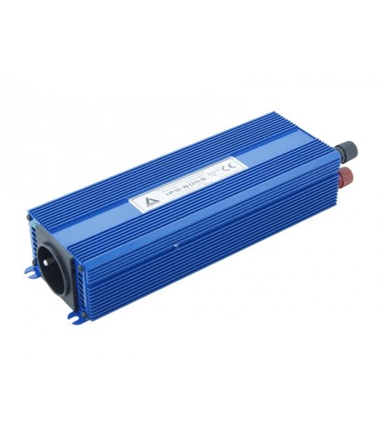 Przetwornica napięcia 24 VDC / 230 VAC ECO MODE SINUS IPS-800S 800W