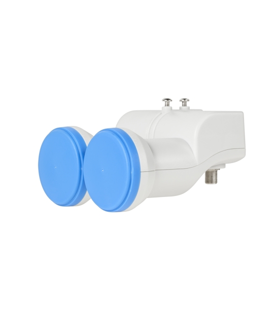 Konwerter dual single LNB Cabletech 0.5dB gold