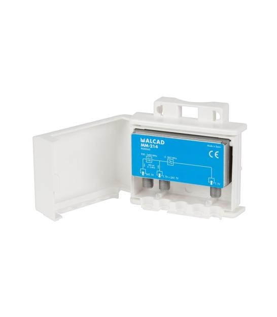 Multiplexer TV-SAT MM-214 ALCAD