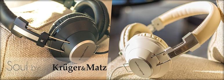 Słuchawki Kruger&Matz Soul białe, czarne