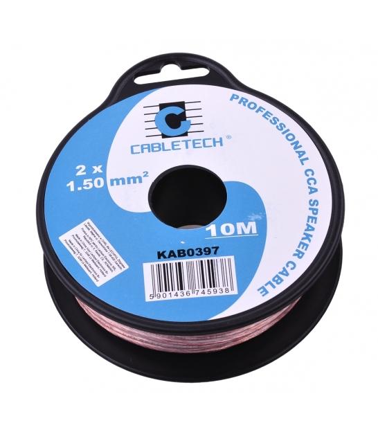 Kabel głośnikowy CCA 1.5mm  10M