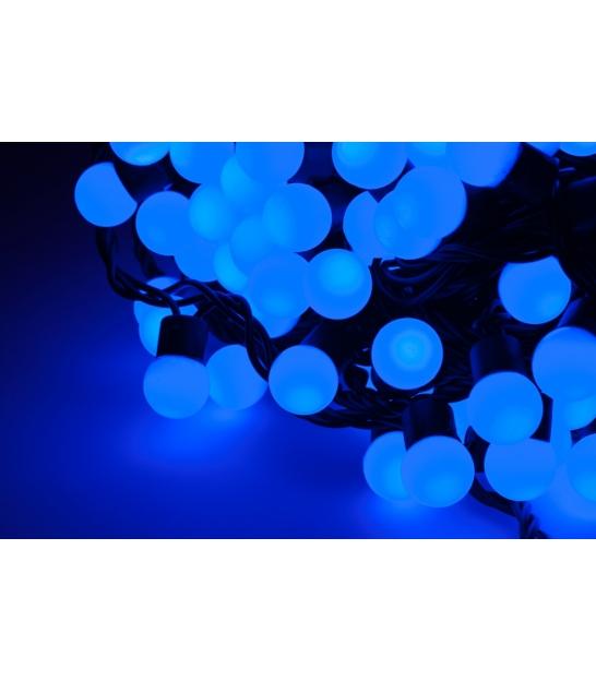 Diodowe lampki choinkowe ozdobne LED kolor niebieski 10m