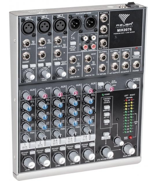Mikser estradowy AZUSA 802-VLZ3  8 kanałów