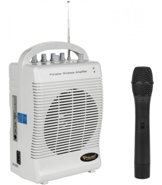 Mikrofon z wzmacniaczem zestaw przenośny SH222U