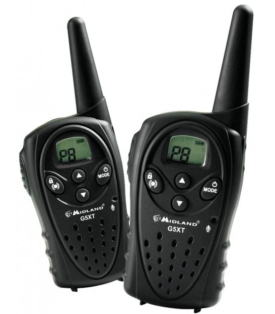 Radiotelefony ręczne PMR MIDLAND G5-XT(walizka)