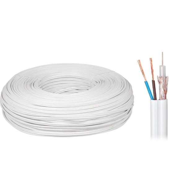 Kabel koncentryczny YWDXek 75-0.59/3.7 K-60 + 2x0,5mm 200m