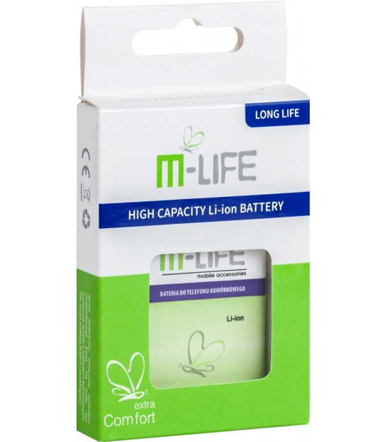 Bateria M-life do Nokia 500 1900mAh small box