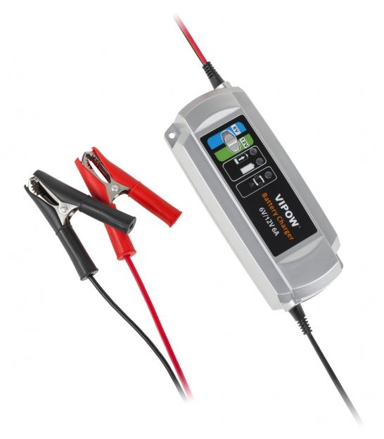 Ładowarka do akumulatorów żelowych 3 etapowa 6V/ 12V 6A