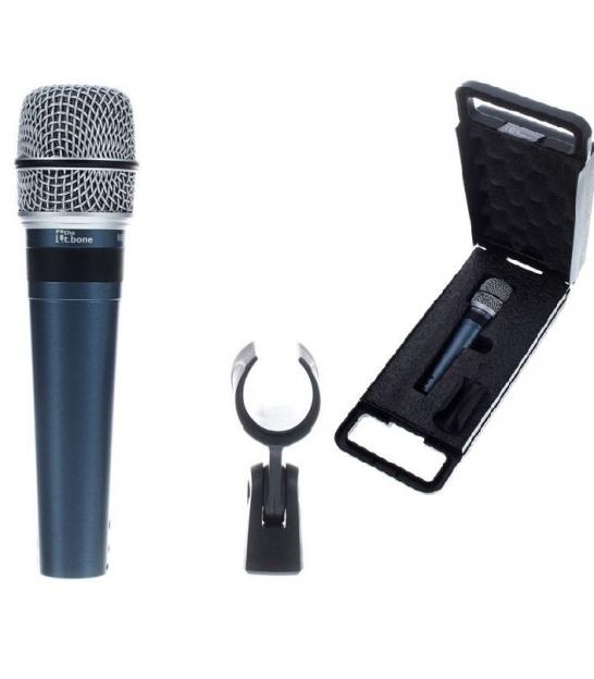 Mikrofon dynamiczny the t.bone MB75 Allround + akcesoria