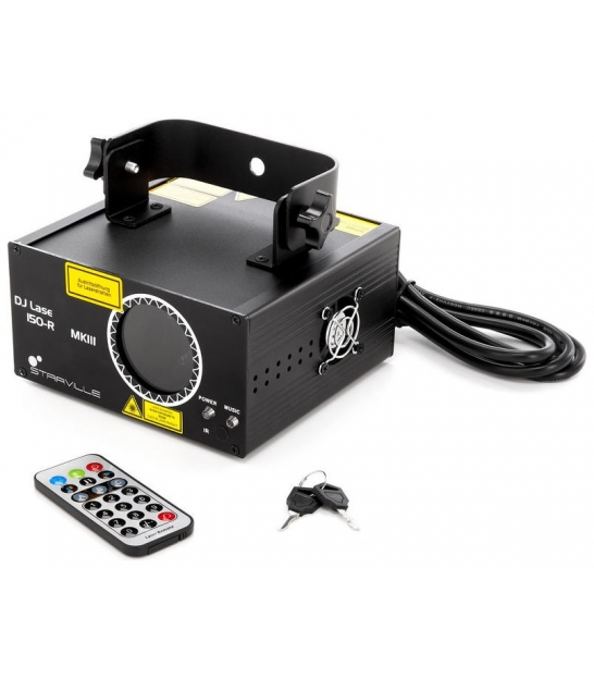 Laser Stairville DJ Lase 150-R MK-III DMX czerwony