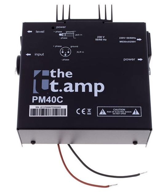 Końcówka mocy the t.amp PM40C