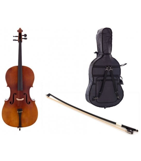 Wiolonczela Thomann Student Cello 3/4 + akcesoria