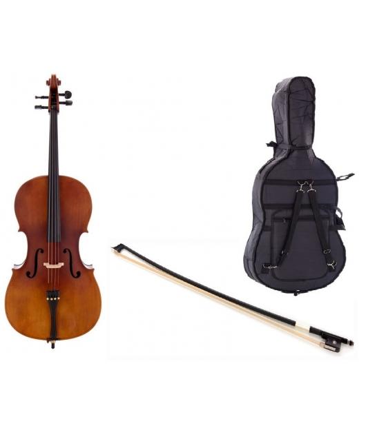 Wiolonczela Thomann Student Cello 4/4 + akcesoria