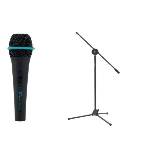 Mikrofon wokalny the t.bone MB 55 + statyw