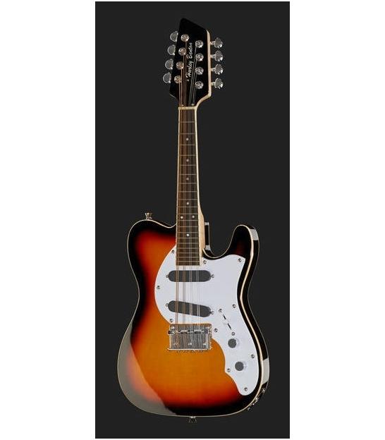 Elektryczna mandolina 8-strunowa Harley Benton MA-500