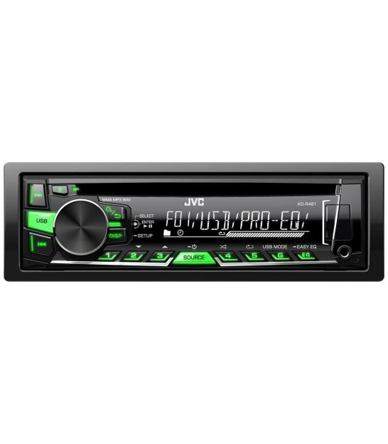 Radio samochodowe JVC KD-R469EY z CD - 2 kolory podświetlenia przycisków