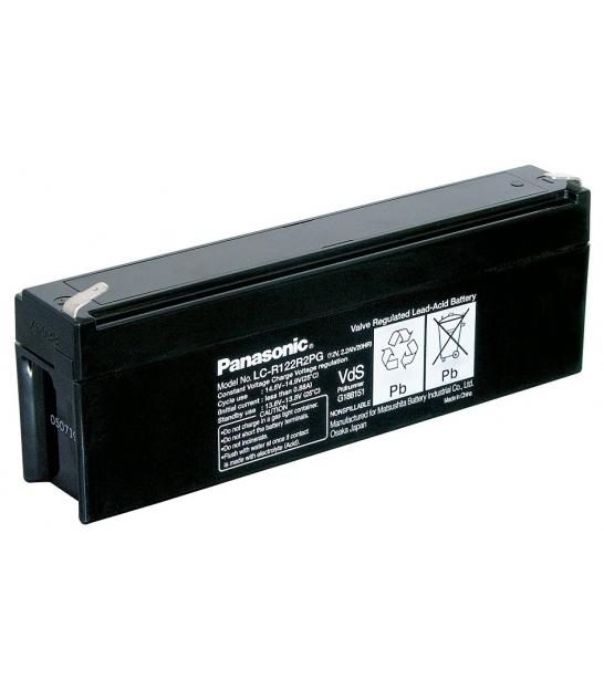 Akumulator żelowy AGM Panasonic (LC-R122R2PG) 12V 2,2Ah