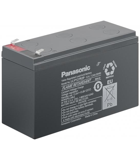 Akumulator żelowy AGM Panasonic (LC-P127R2P) 12V 7,2Ah