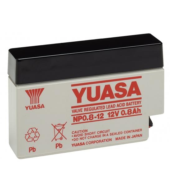 Akumulator żelowy AGM YUASA (NP0.8-12) 12V 0,8Ah