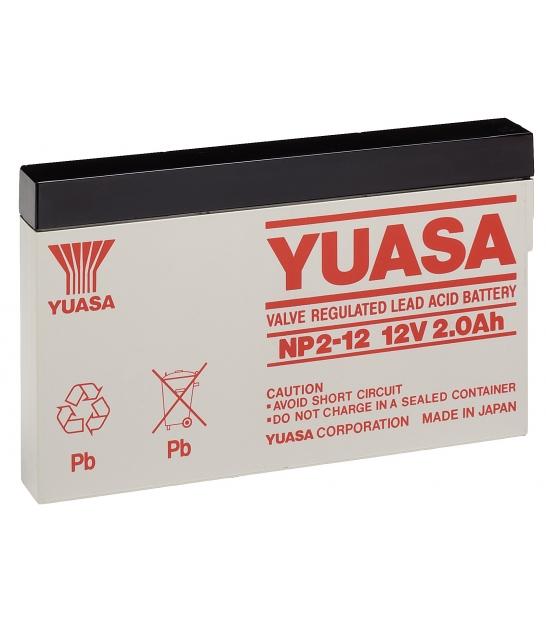 Akumulator żelowy AGM YUASA (NP2-12) 12V 2Ah