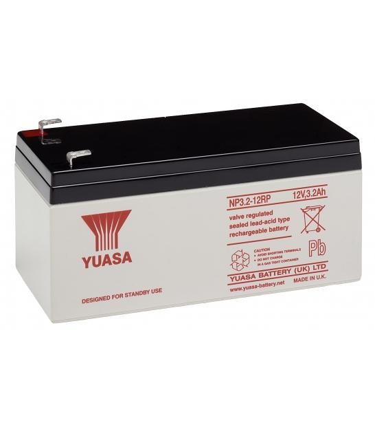 Akumulator żelowy AGM YUASA (NP3.2-12) 12V 3,2Ah