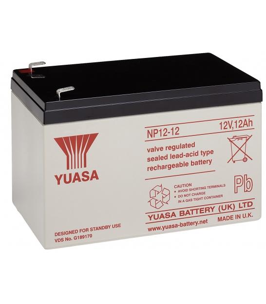 Akumulator żelowy AGM YUASA (NP12-12) 12V 12Ah