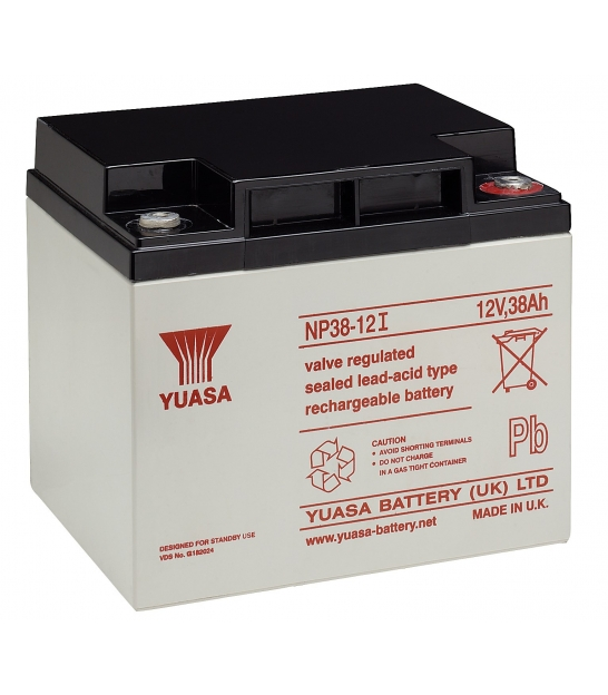 Akumulator żelowy AGM YUASA (NP38-12) 12V 38Ah
